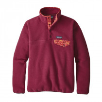 Patagonia W Lw Synch Snap-T P/O Arrow Red