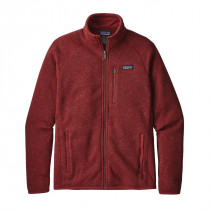 Patagonia Men's Better Sweater Jacket Oxide Red