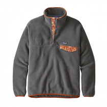 Patagonia M Lw Synch Snap-T P/O - Eu Fit Forge Grey