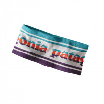 Patagonia Lined Knit Headband Park Stripe Band: Birch White