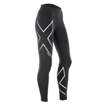 2XU Hyoptikmid-Risecomptights Women's Black/Silver Reflective