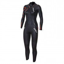 2XU Ignition Wetsuit- W Black/Desert Red