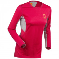Bjørn Dæhlie Training Wool Long Sleeve Women's Bright Rose