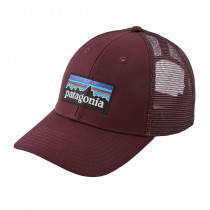 Patagonia P-6 Logo Lopro Trucker Hat Dark Currant
