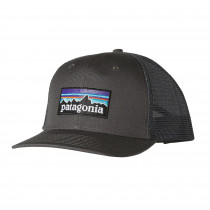 Patagonia P-6 Logo Trucker Hat Forge Grey