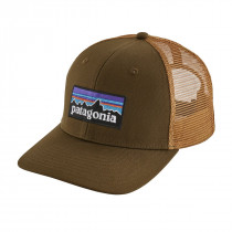 Patagonia P-6 Logo Trucker Hat Sediment