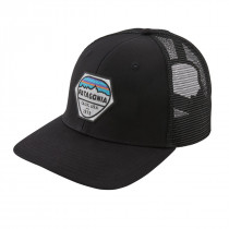 Patagonia Fitz Roy Hex Trucker Hat Black