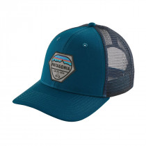 Patagonia Fitz Roy Hex Trucker Hat Big Sur Blue
