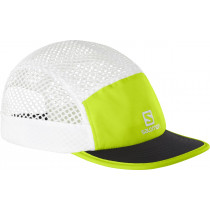 Salomon Cap Air Logo Cap Acid Lime/Black