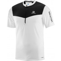 Salomon Fast Wing Hz SS Tee Men's White/Black