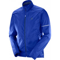 Salomon Agile Wind Jkt Men's Surf The Web