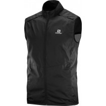 Salomon Agile Wind Vest Men's Black