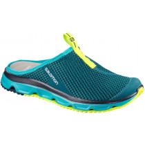 Salomon Shoes Rx Slide 3.0 W Deep Lagoon/Blue Bird/Safety Yellow