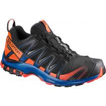Salomon Shoes Xa Pro 3d Gtx Ltd Black/Scarlet Ibis/Surf The Web