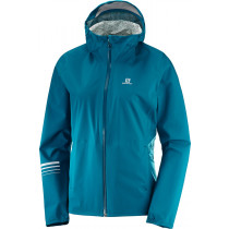 Salomon Lightning Wp Jacket Women's Deep Lagoon