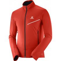 Salomon Rs Softshell Jacket Men's Fiery Red/Black