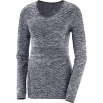 Salomon Elevate Move'On LS Tee Women's Graphite