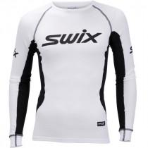 Swix RaceX Bodyw Longsleeve Mens Bright White/Black