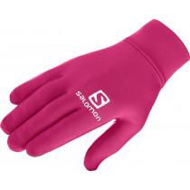 Salomon Agile Warm Glove U Cerise