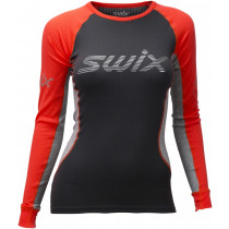 Swix Radiant Racex LS Women Neon Red