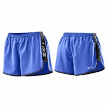 2XU Run Short Dame blå/sort