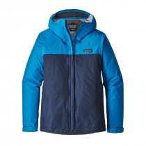 Patagonia Women Torrentshell Jacket Lapiz Blue W/Navy Blue