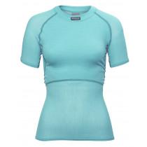Brynje Lady Wool Thermo Light T-Shirt Aqua