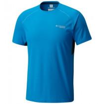 Columbia Montrail Men's Titan Ultra Short Sleeve Shirt Compassblue