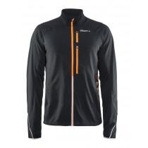 Craft Breakaway Jacket Men's Black/Flourange