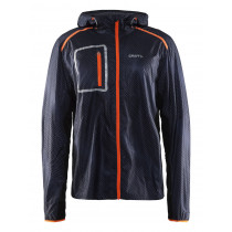 Craft Focus 2.0 Hood Jacket Men's P Ny Gravel