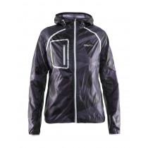 Craft Focus Hood Jacket Women'a P Geo Black/Platinum
