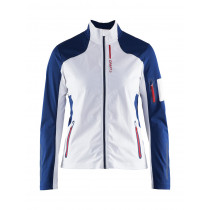 Craft Stratum Jacket Women's White/Thunder