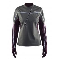 Craft Weather Jersey Women's Dark Grey Melange/Space/Silver