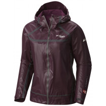 Columbia Montrail Women's Outdry Extreme Light Shell Dark Raspberry