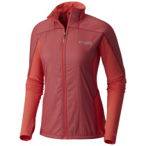 Columbia Montrail Women's Caldorado Insulated Jacket Red Coral Translucent, Red Cor