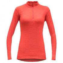 Devold Breeze Woman Half Zip Neck Cayenne