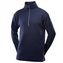 Devold Blaatrøie Sweater Zip Neck Deep Marine