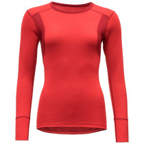 Devold Hiking Woman Shirt Chilli