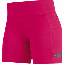 Gore Running Wear Air Lady Tights Short Jazzy Pink