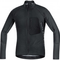 Gore Bike Wear® Alp-X Pro Windstopper® Soft Shell Zip-Off Jersey Black
