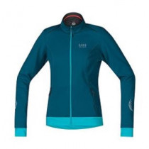 Gore Bike Wear® Element Lady Windstopper® Soft Shell Jacket Ink Blue/Scuba Blue