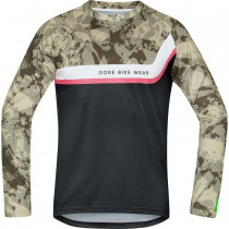 Gore Bike Wear Power Trail Jersey Long Camouflage/Black