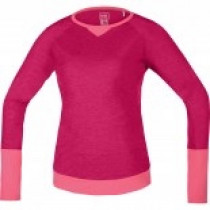 Gore Bike Wear Power Trail Lady Jersey Long Jazzy Pink/Giro Pink