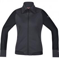 Gore Bike Wear Power Trail Lady Windstopper Soft Shell Jacket Raven Brown/Black