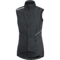 Gore Running Wear Air Lady Windstopper Active Shell Vest Black
