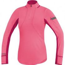 Gore Running Wear Air Lady Zip Shirt Long Giro Pink/Jazzy Pink