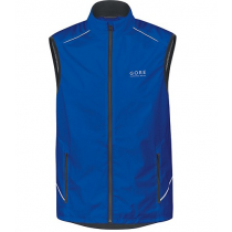 Gore Running Wear Essential Windstopper Active Shell Vest Brilliant Blue