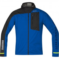 Gore Running Wear Fusion Windstopper Active Shell Jacket Brilliant Blue/Black