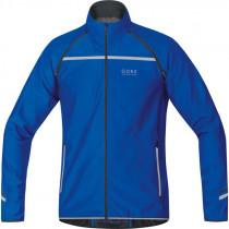 Gore Running Wear Mythos 2.0 Windstopper Soft Shell Zip-Off Light Jacket Brilliant Blue
