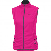 Gore Running Wear® Mythos Lady 2.0 Windstopper® Soft Shell Light Vest Magenta